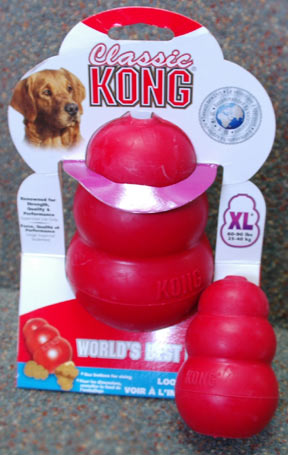 classing kong toy